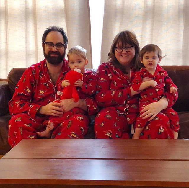 Merry Christmas from the Glover fam (and Elmo)!