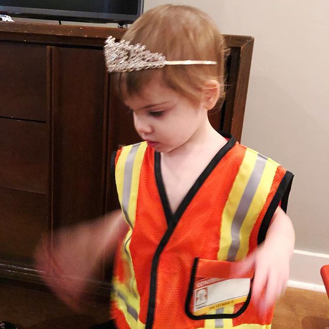 Trend alert: construction worker princess is the new hotness