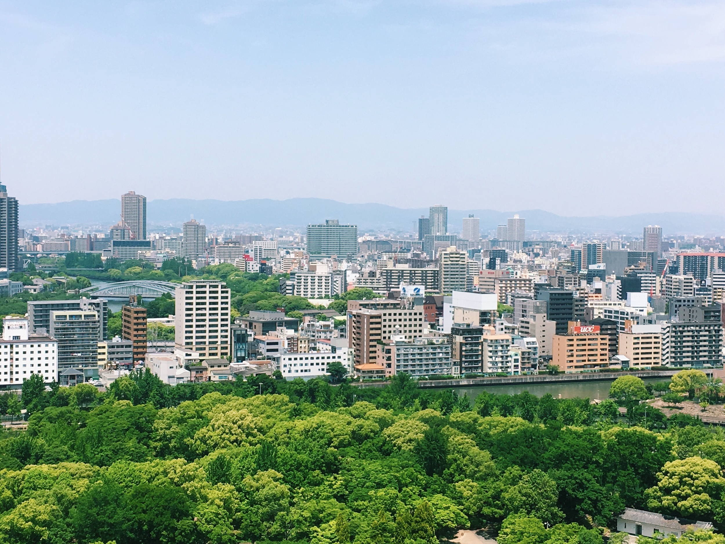 The View from Kyoto Castle