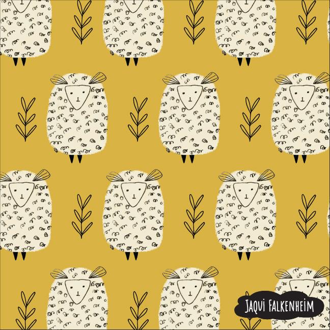 Baa Baa Cream Sheep
