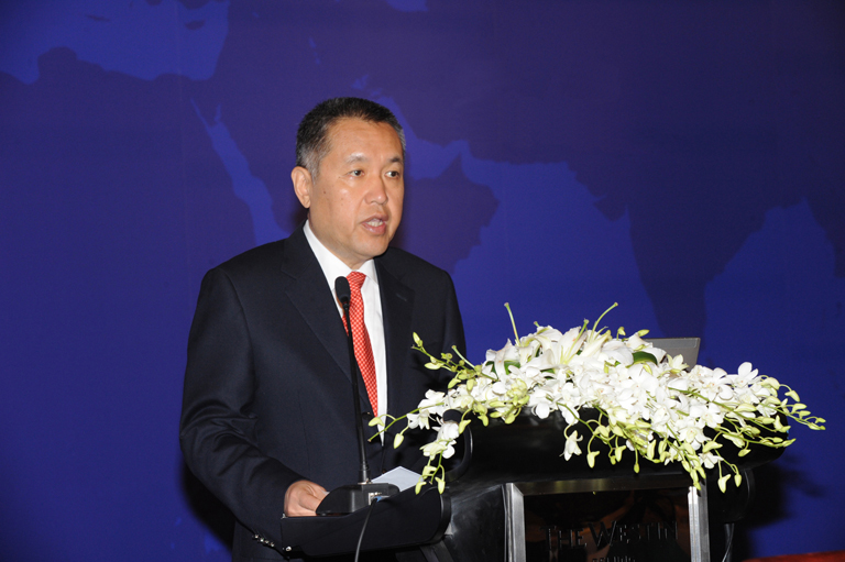 Image: World Intellectual Property Organisation.Minister Zhang Mao of the State Administration for Industry and Commerce.