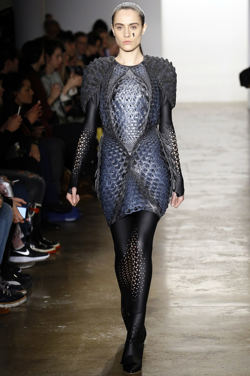 Image: ThreeASFOUR fall 2016 collection by founder and designer, Gabbi Asfour.Courtesy of Vogue