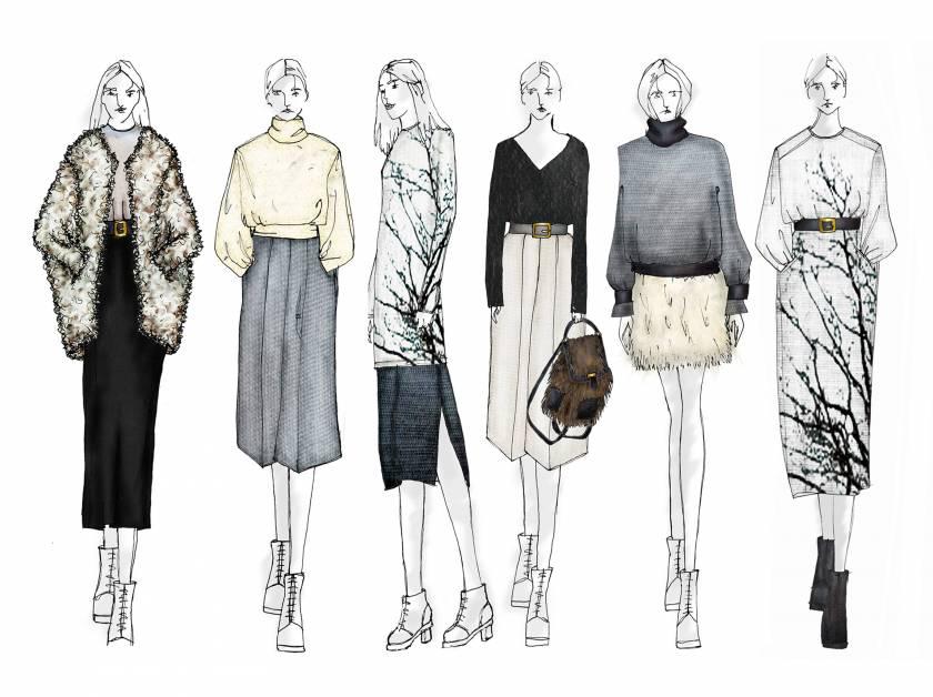 Courtesy of Fashion Design & Communication Graduate Hannah Law