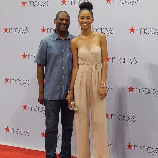 Image: Ashton Cooper with his daughter, Christina Cooper