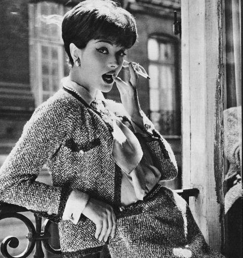 Original Chanel tweed jacket,image courtesy of Chanel