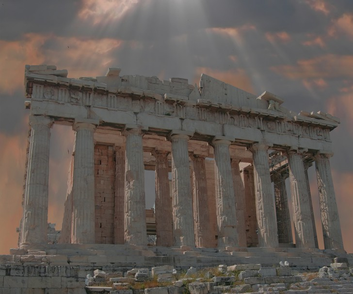 Parthenon Temple, Athenian Acropolis, Greece wallpapers.jpg