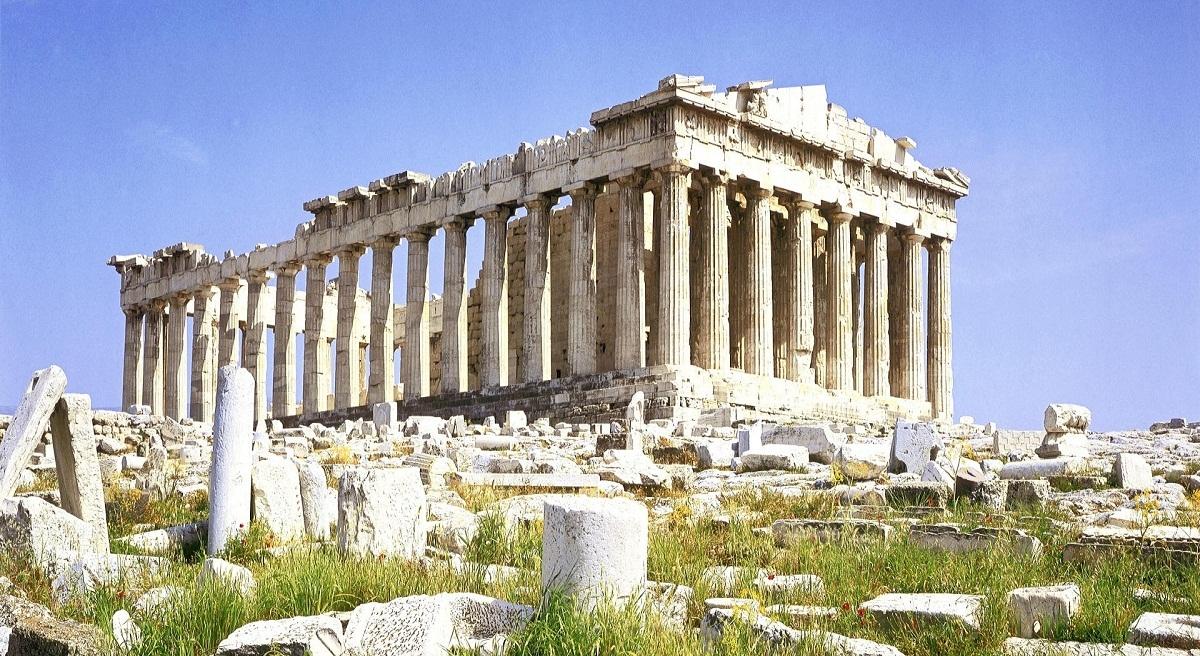Parthenon Temple, Athenian Acropolis, Greece wallpapers.jpg