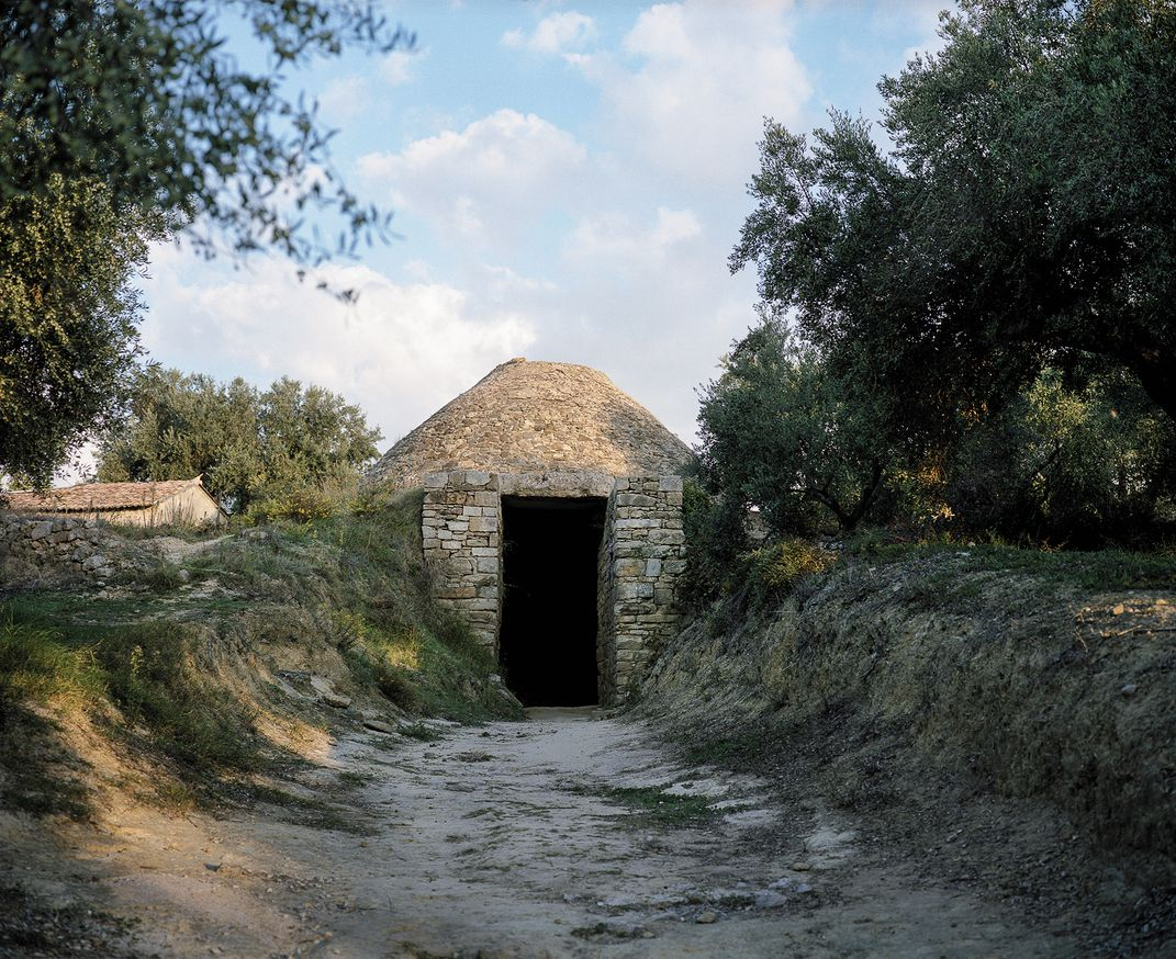 The tholos tomb at Pylos