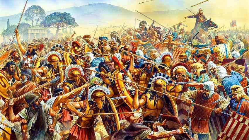Battle of Plataea: 480 BC