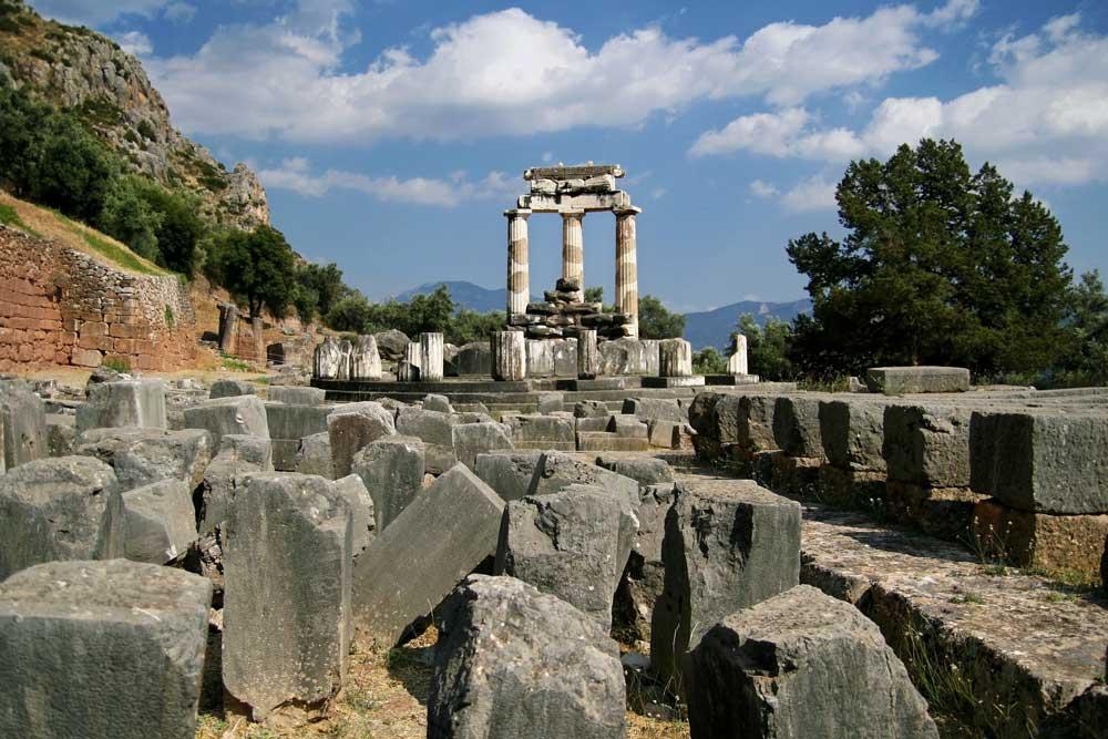 The Tholos of Delphi