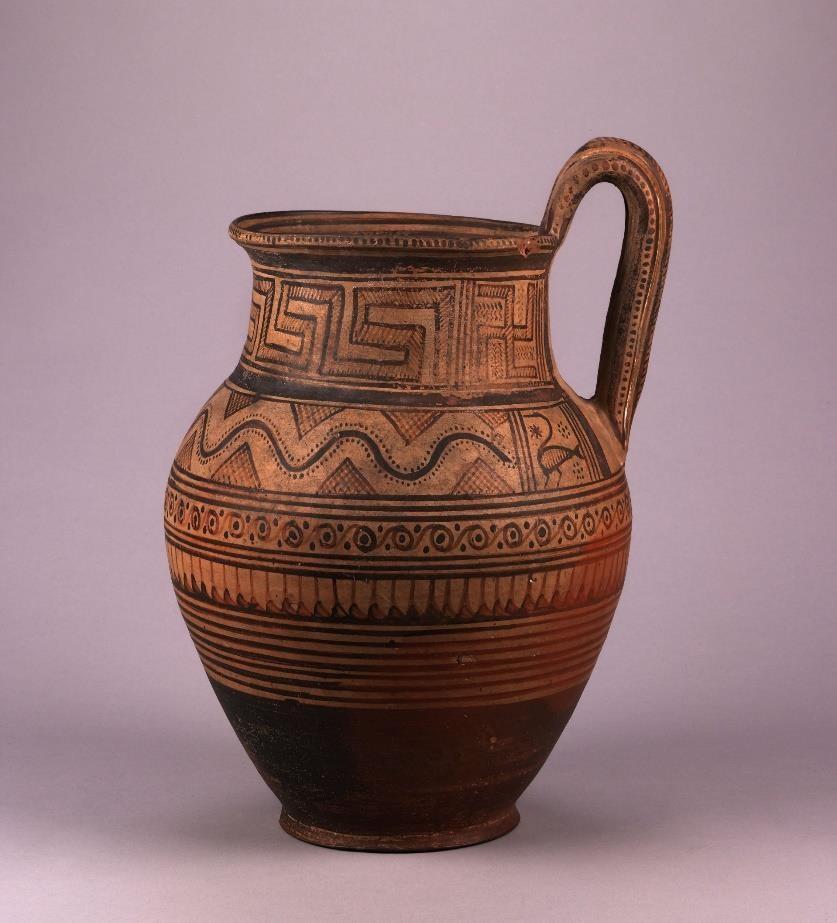 Fig.1: Late Geometric 1b pitcher. Found in Attica. Source: British Museum.