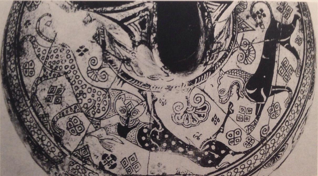 Fig.2: Milesian (MWG) Oinochoe. Author: Katie R 2014.