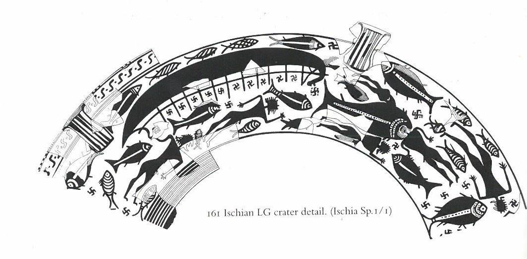 Fig.4: Late Geometric Ischian Krater. Source: John Boardman 1998.