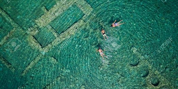 """The Sunken """"Atlantis"""" of Epidaurus Ancient Sunken City in Greece Captured by Drone.jpg"""