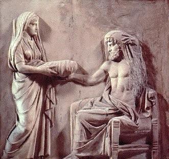 Cronus and Rhea Titans
