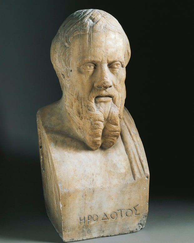 Bust of Herodotus of Halicarnassus (c484-425 BC) Photograph: G Nimatallah/De Agostini/Getty Images