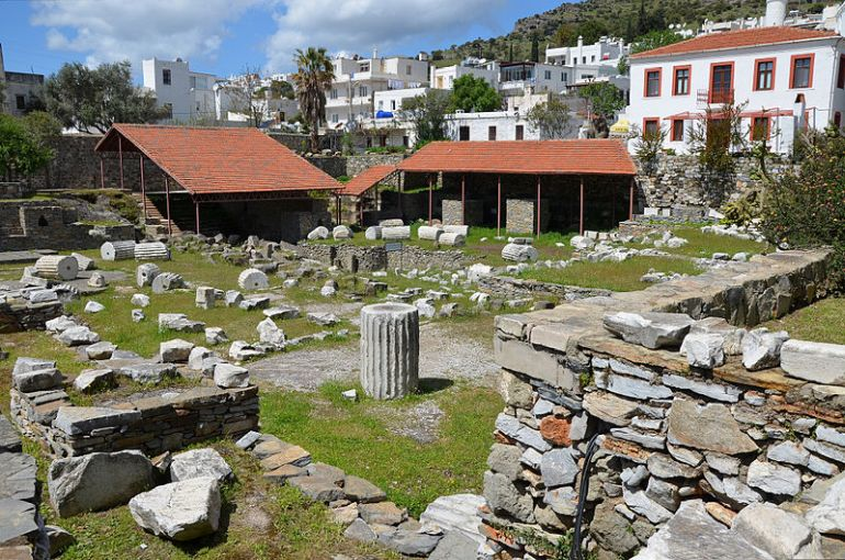 Present day ruins at the site. Credit: FollowingHadrian/Wikimedia Commons
