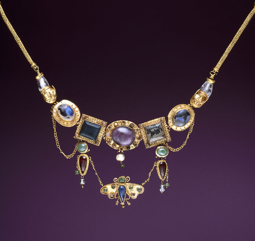 Necklace with Butterfly Pendant, Hellenistic, ca. late 2nd-1st century BC, Walters Art Museum: Baltimore, 2019