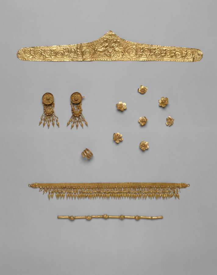 Set of Jewelry, Hellenistic, ca. 330-300 BC, Metropolitan Museum of Art (Heilbrunn Timeline of Art History): New York City, 2019