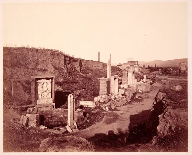 Kerameikos, Athens, Greece, 1882