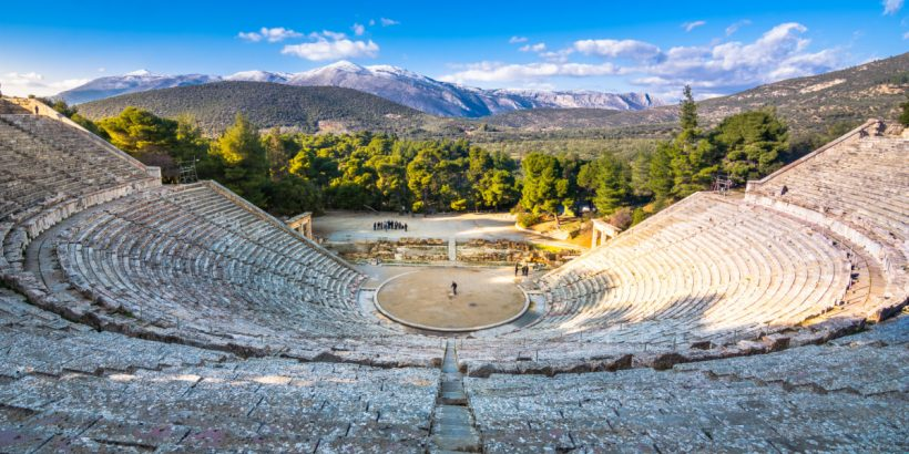 Ancient Epidaurus Theatre