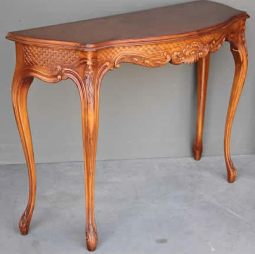 Vintage antique table  French mid to late 1900's in the 18th century style