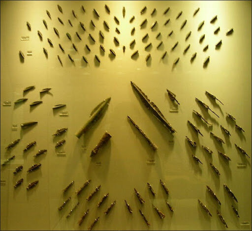 Arrow tips from Thermopylae Battle, 480 BCE