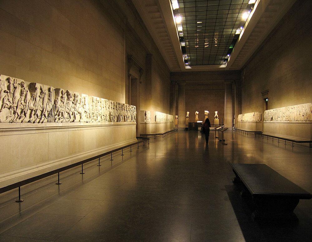 Parthenon Marbles (Elgin Marbles) - British Museum, London
