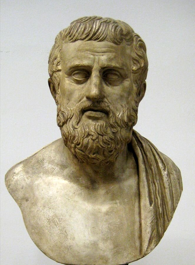 Sophocles bust