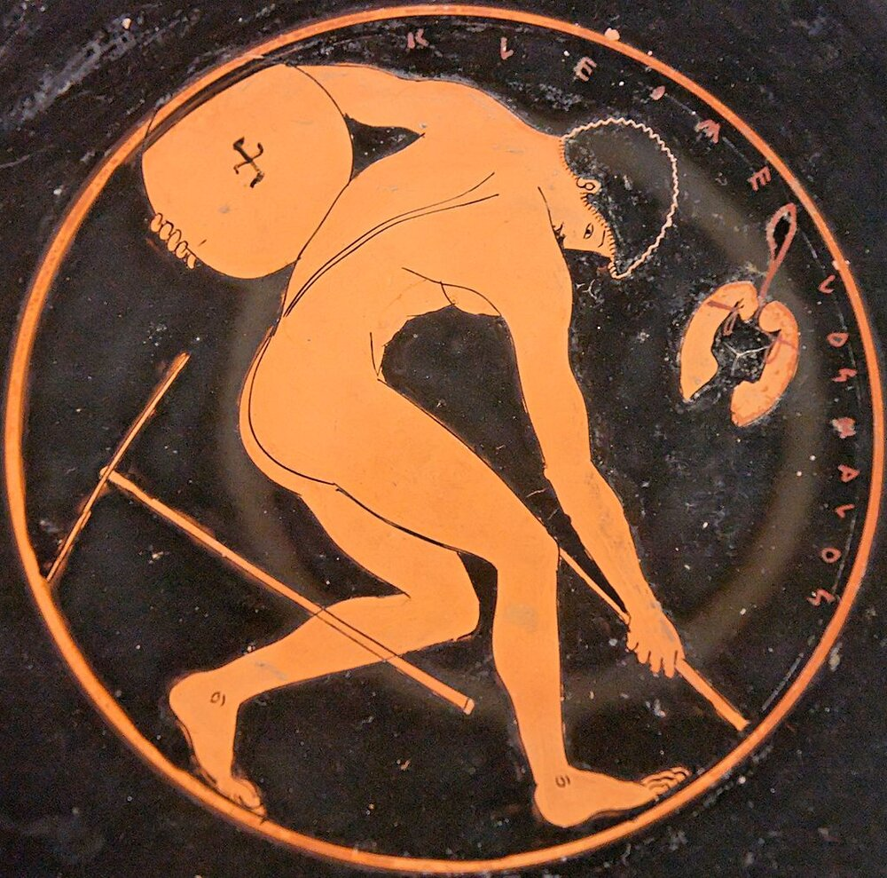 Discus Thrower (Image: By Kleomelos Painter/Public domain)