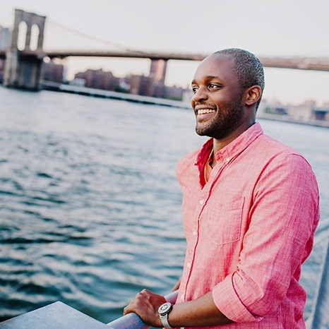 Prentice Onayemi - Founding PartnerPrentice is a performer and social entrepreneur. Trained as an actor, his performing credits range from downtown NYC passion projects to Broadway mainstays and include over 100 audiobooks. Immediately prior to GoS, he led ArtPlace America's efforts to boost the efficacy of artist-driven community development across the US as its Director of Partnerships and Communications. He also co-founded Asmi International—a nonprofit that trained NGOs to offer creative self-expression and literacy workshops in post-conflict zones, and JACK—a performing arts venue in Brooklyn, NY. He holds a BFA from NYU and an MBA from Columbia University.