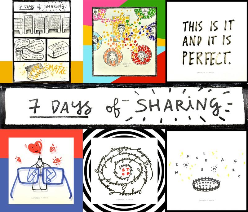 7 Days of Sharing