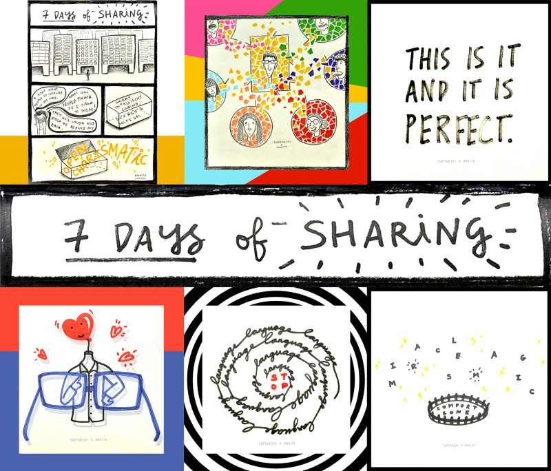 7 Days of Sharing