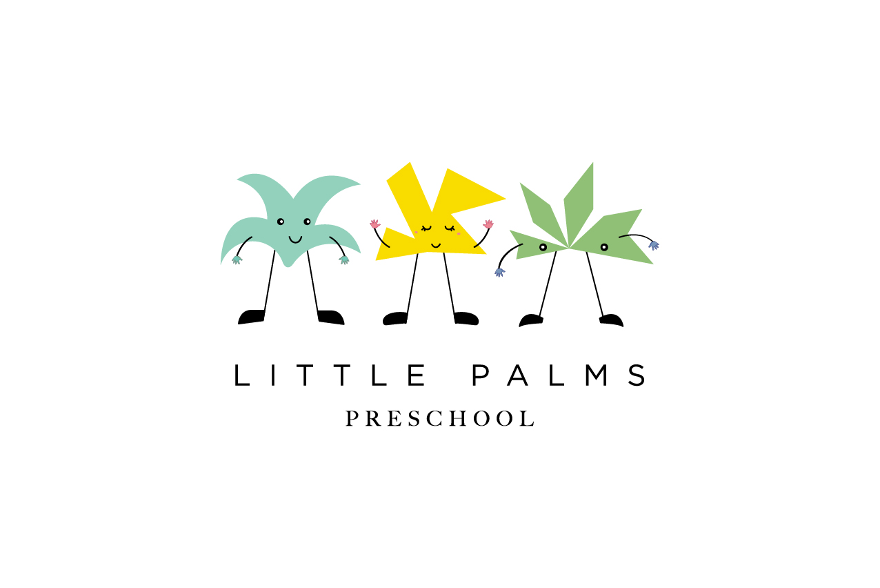 We came up with different forms, shapes and colours of palm trees showcasing how every child is unique and different. Adding features like eyes, mouth, hands and legs gave it a personality and made it look more relatable for kids.