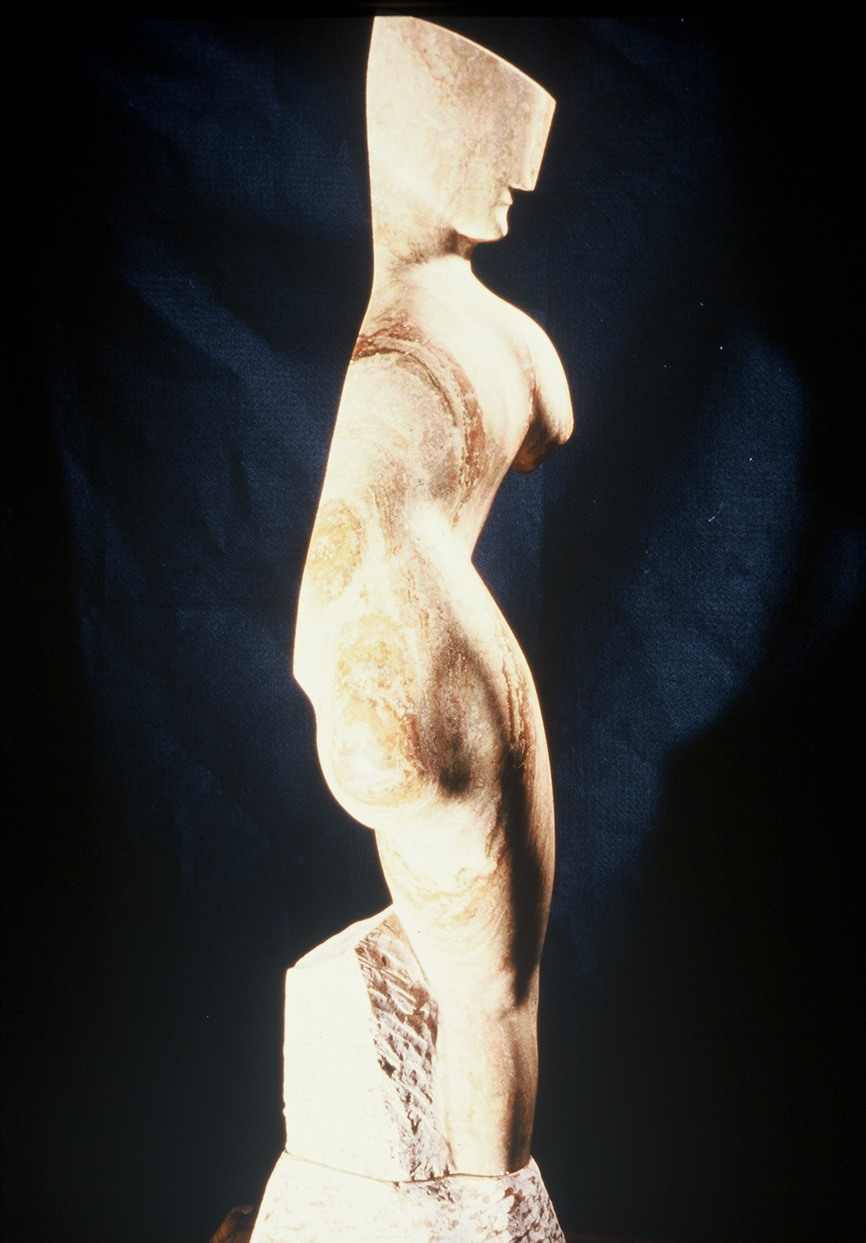 Half-Venus (side view)