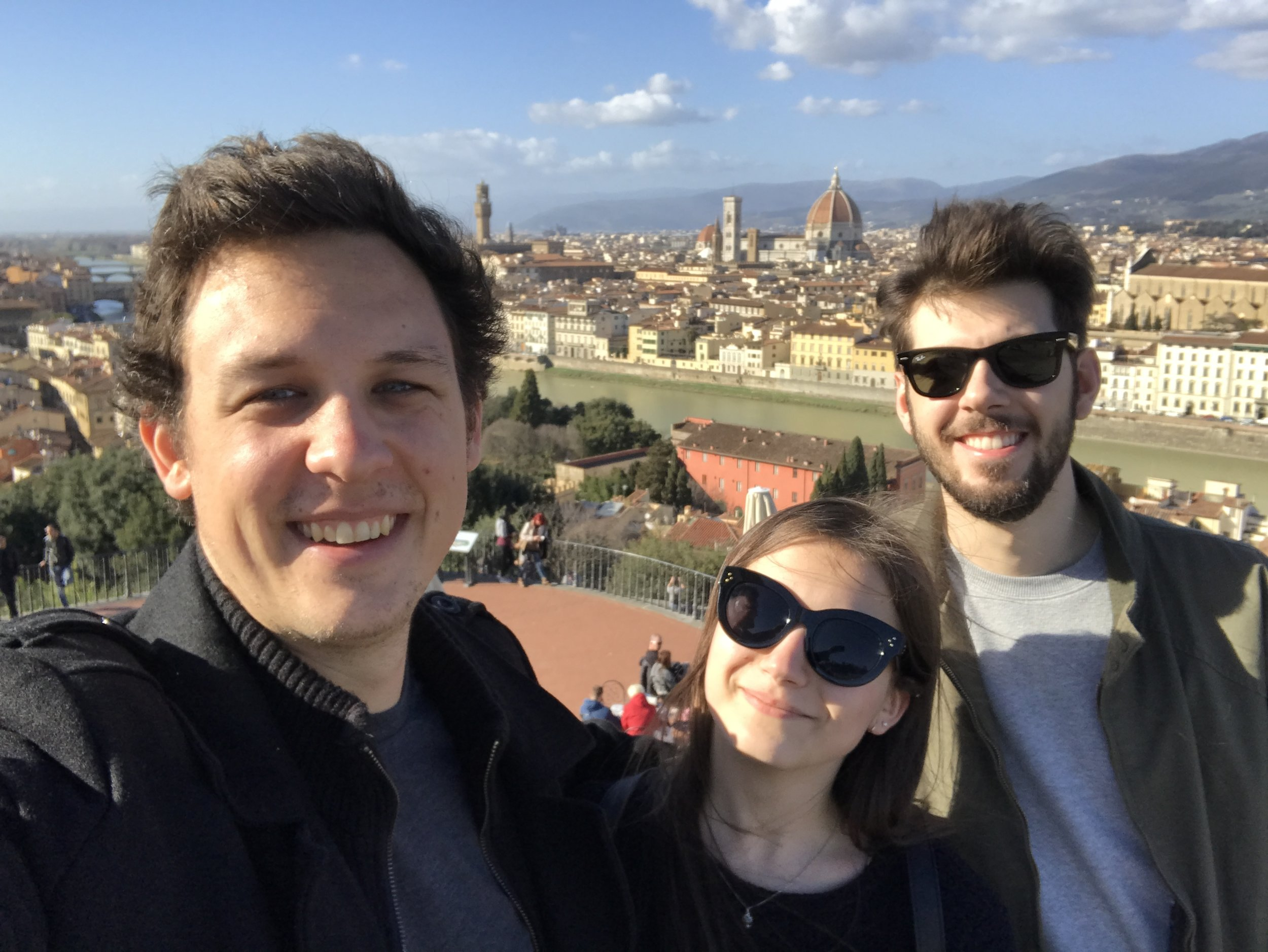 Florence with Italian Friends