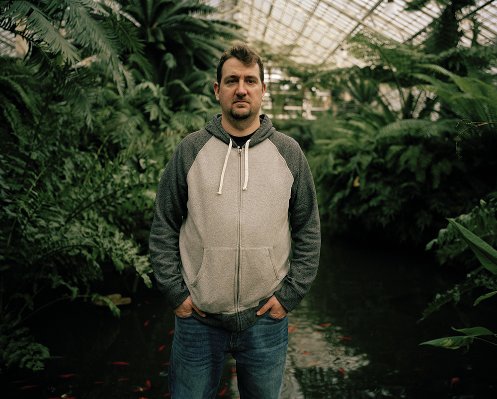 Ryan at Garfield Park Conservatory, 2018