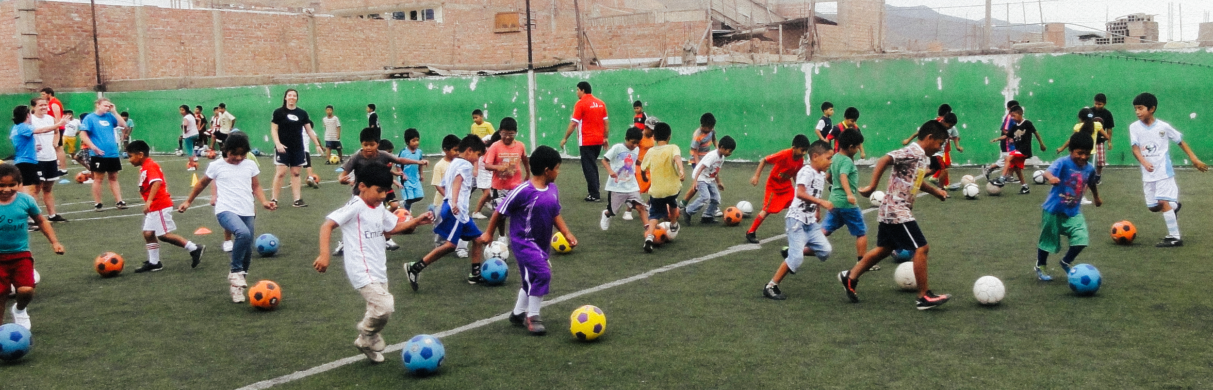 Iconium Strategies partners with Sport Aid & Communities for Life in Manchay, Peru