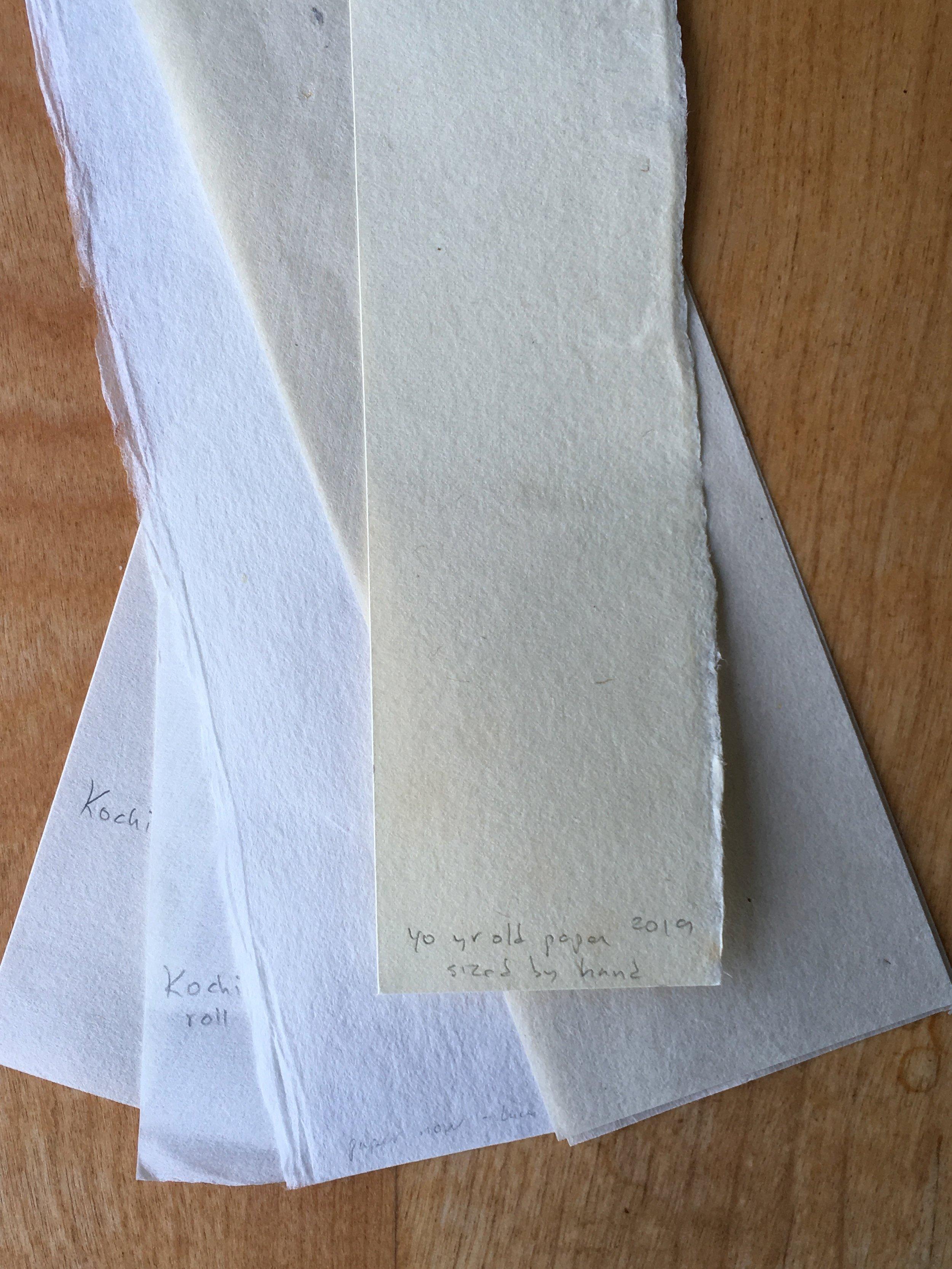 washi samples