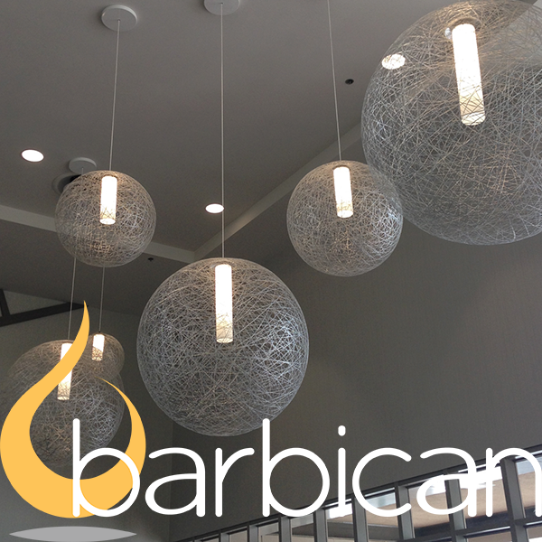 BARBICAN - Specializes in a variety of modular lighting products incorporating thousands of finishes and multi material options.  The sky is the limit with Barbican, be it a product that needs to be integrated into a unique architectural feature or a truly one of the kind aesthetic option.
