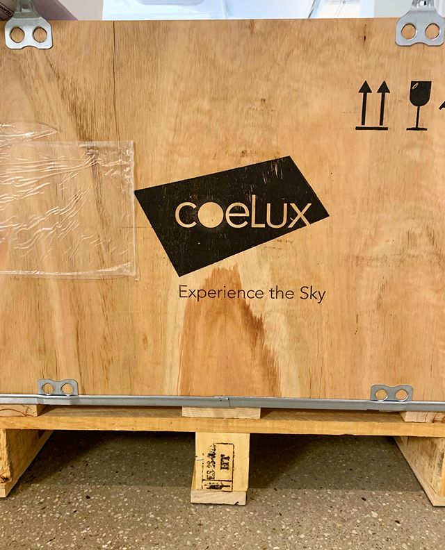 Big things happening at #showroom1239. New material just in from our friends in Italy, @coelux and Esse-Ci. #lighting #design #newyork #coelux #esseci #lightingnyc #architecturallighting