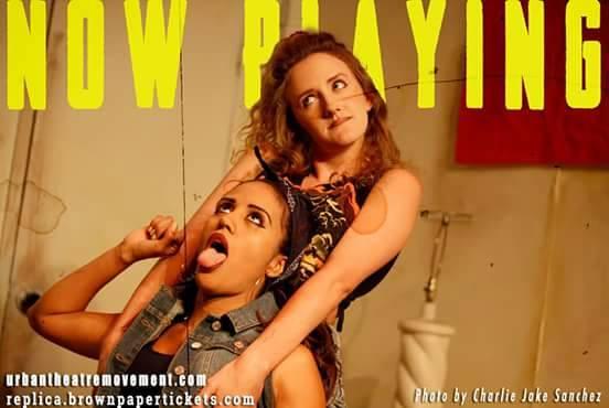 """""""Replica"""", Urban Theatre Movement Summer 2015"""