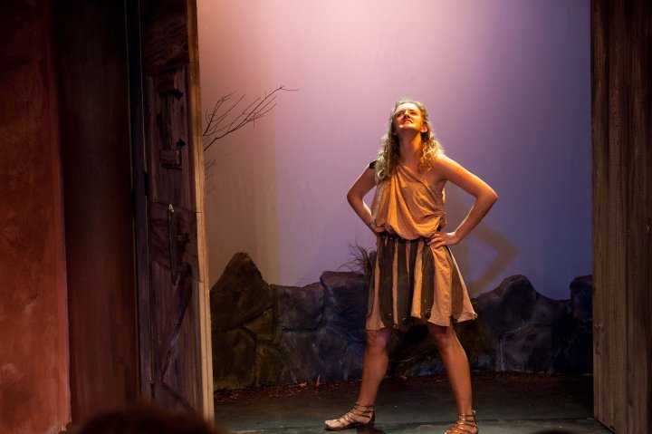 "As Hercules in ""The Alcestiad"" directed by Jason Robert Brown"