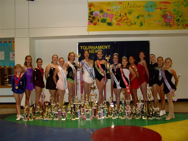 Miss California Majorette and Spring Queen