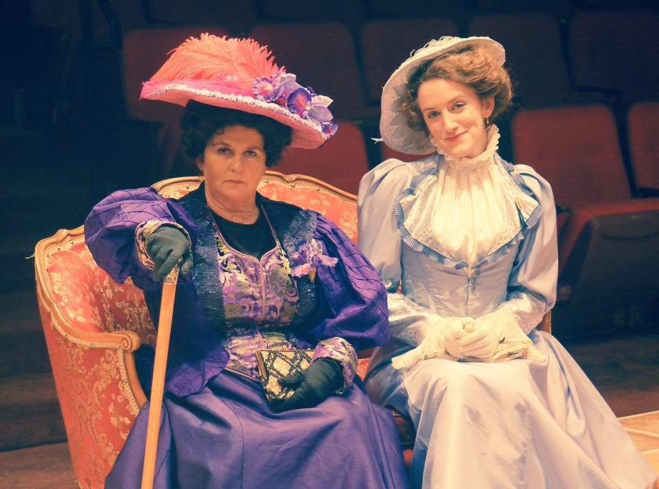 """Gwendolen in """"The Importance of Being Earnest"""""""