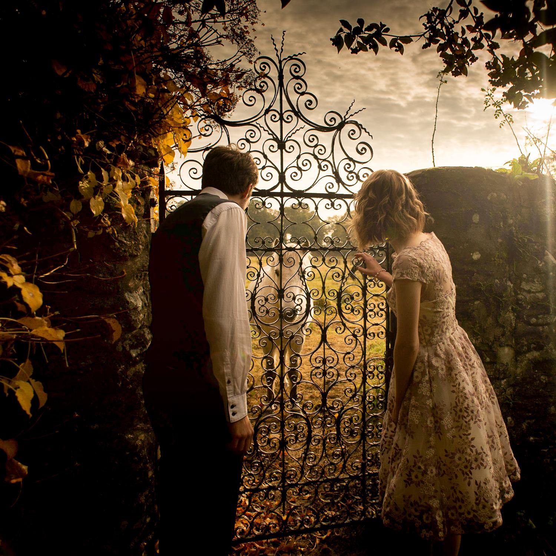 chris wallace fine art wedding photography horse gate sunset golden hour_.jpg