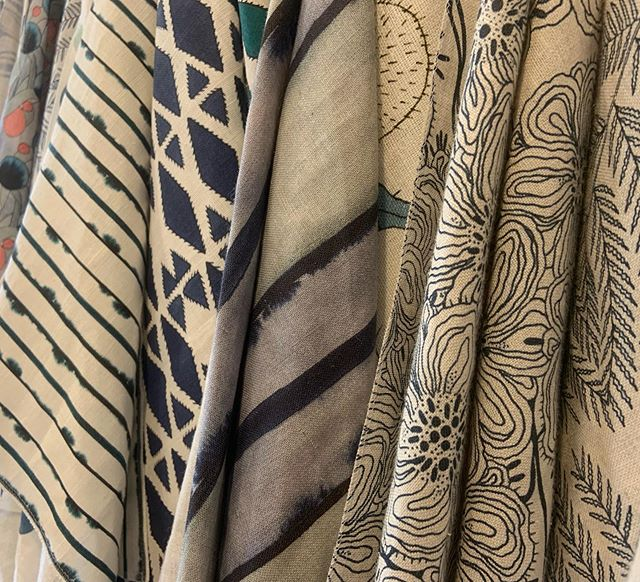 thank you to // SUPPLY // showroom for a wonderful inspiring lunch filled with beautiful textiles! #fazioarchitects . . . #aiaaustin #archdaily #interiordesign #supplyshowroom #austin #materialspalette #architecture #modernfabrics #artisan