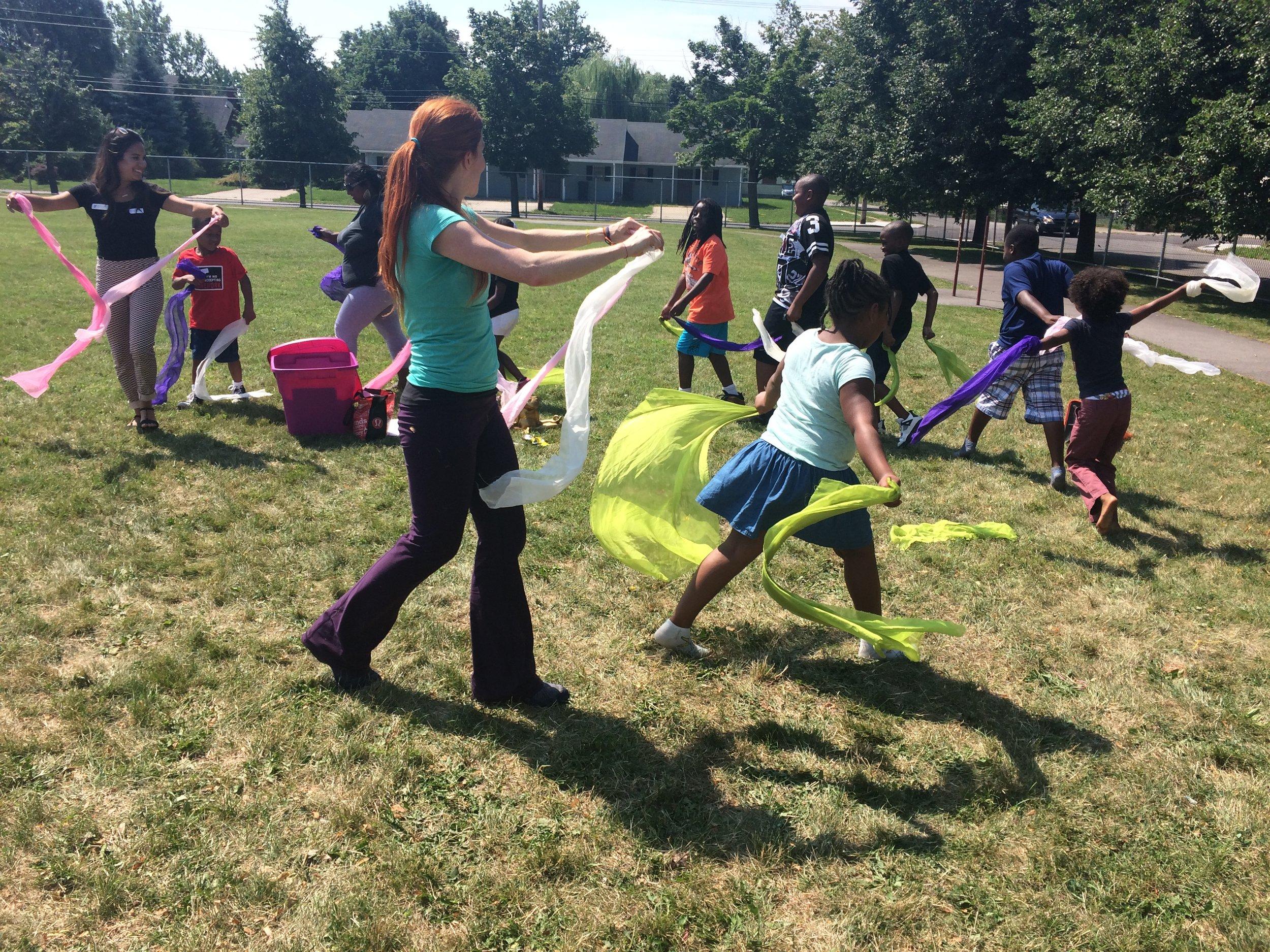 yoga & mindfulness with Mari at YMCA location