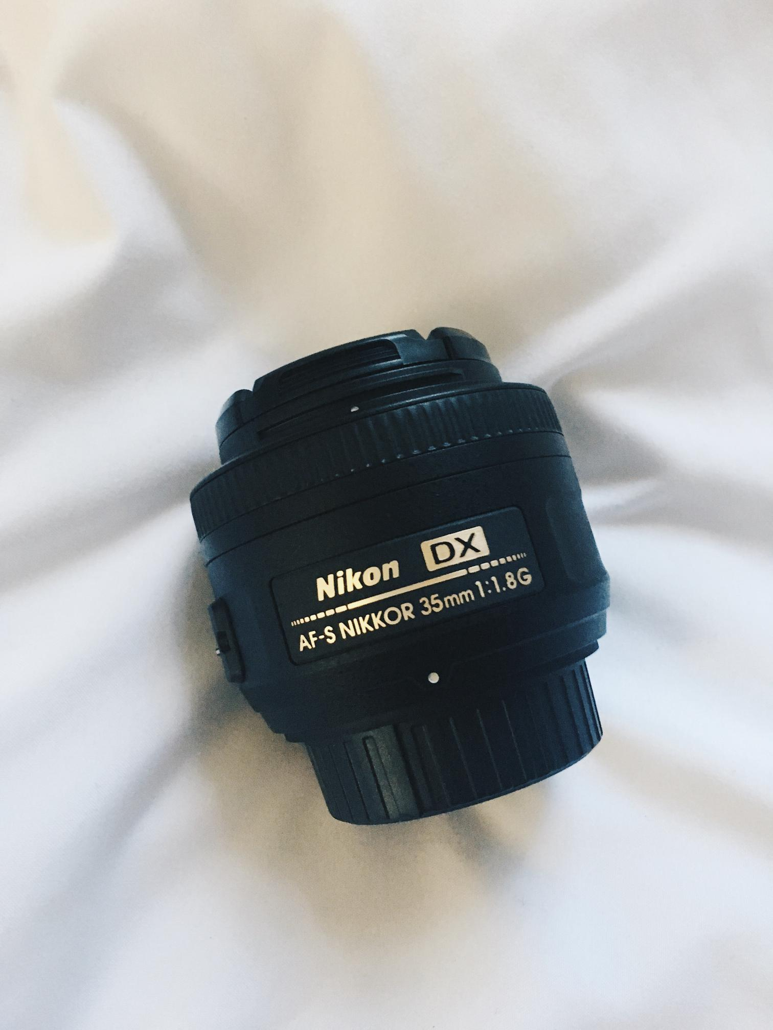 the 35 mm lens