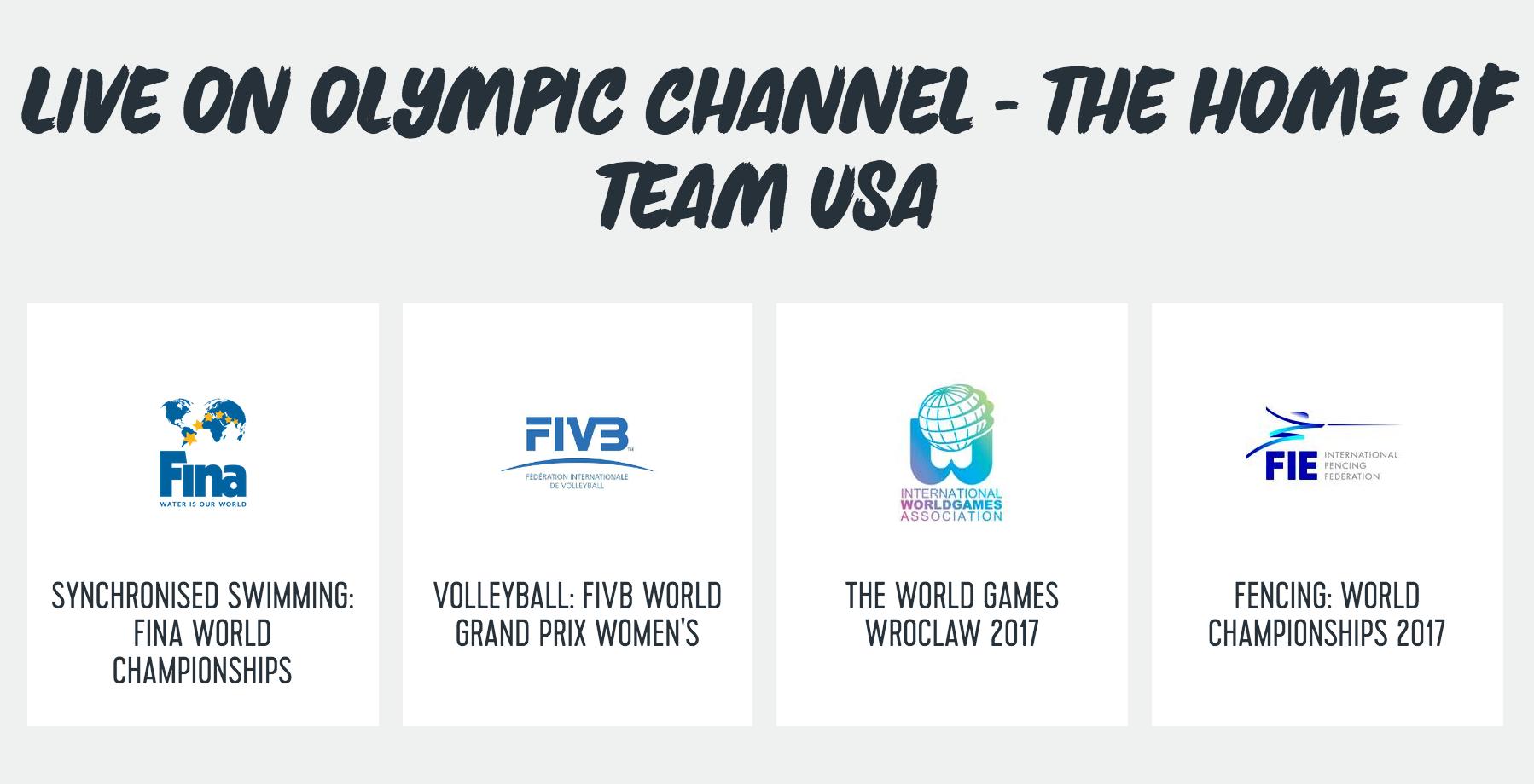 Screenshot: OlympicChannel.com